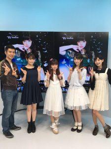 2016/9/22 「アニメぴあちゃんねる」終了後と思います。