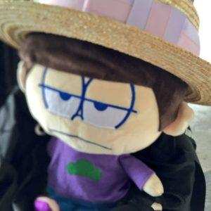 2016/9/16 枕から人形に戻った一松の人形